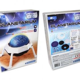 Planetárium – Csillagvizsgáló világító égbolttal – x