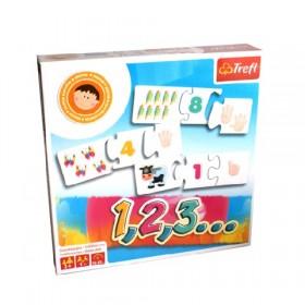 1,2,3… készségfejlesztő játék gyerekeknek – Trefl – x