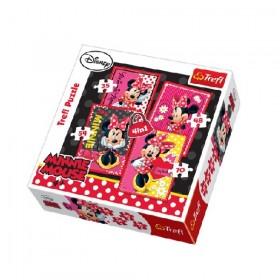Minnie a gyönyörű 4 az 1-ben puzzle – Trefl – x
