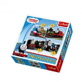 Thomas és barátai 4 az 1-ben puzzle – Trefl – x