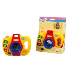 Világító zenélő bébi játék – kamera – Simba Toys – x