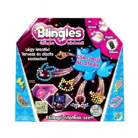 Blingles Csillogó állatkák gyöngy szett – x