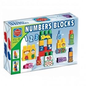 Maxi Blocks figurás számoló és betűs kockák – ABC – x