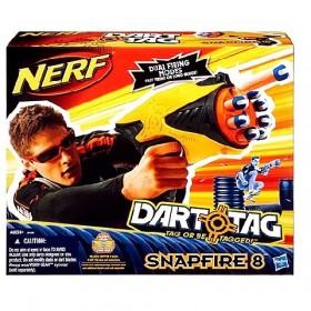 Nerf Dart Tag Snapfire 8 szivacslövő fegyver – x