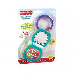 Fisher-Price: Zenélő babatelefon tükörrel – Mattel – x